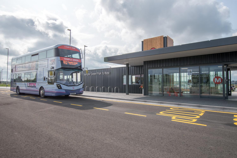 Temple Green modular Park and Ride - Leeds