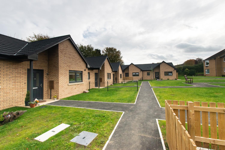 Ward Court modular bungalows